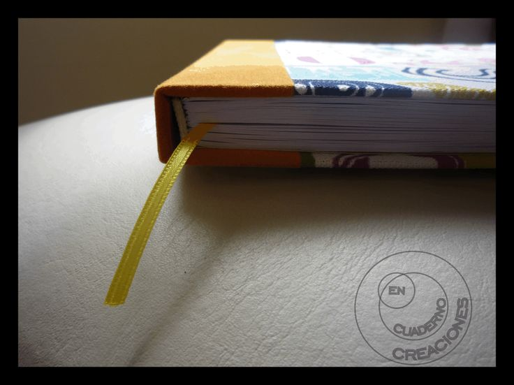 Lomo de cuadernos de tela