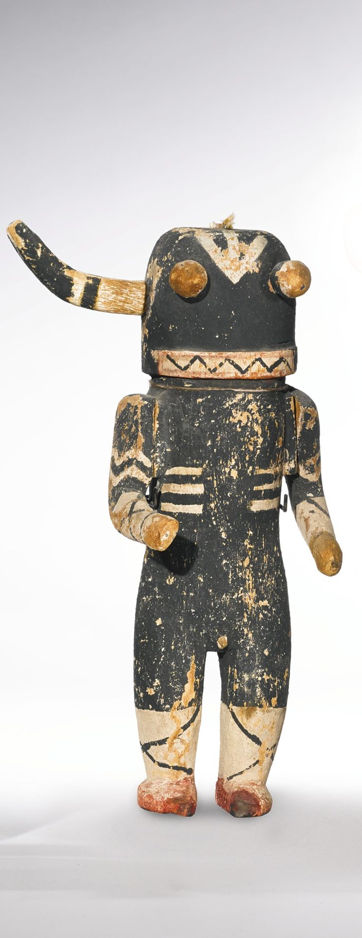 Hopi Polychromed Wood Kachina Doll - I know this isn't a soft toy but it has an amazing design.