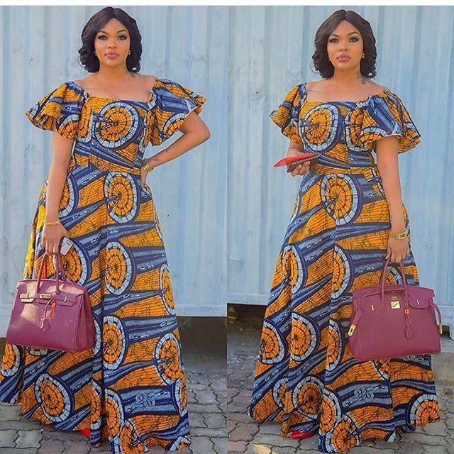 Mode De Robe En Pagne 2019 Mode Africaine Robe Longue Mode Africaine Robe Mode Africaine