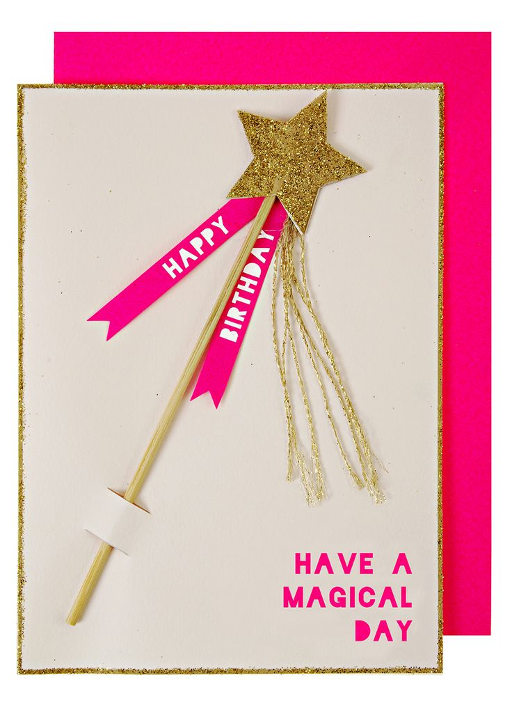 Meri Meri Magical Day Card