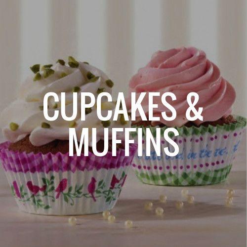 Zubehör und Zutaten rund um Cupcakes und Muffins entdecken! Cupcake Deko, Cupcake Zubehör und viele weitere tolle Dinge rund um Cupcakes.