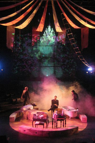 The Elephant Man. Prime Stage Company. Scenic design by JohnMichael Bohach.