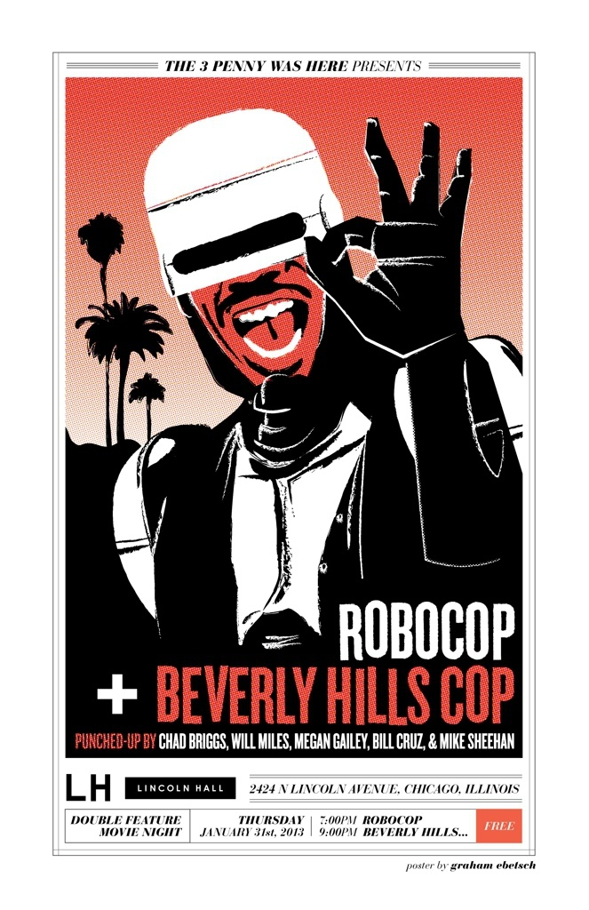 January 31 robocop vs beverly hills cop free show these things
