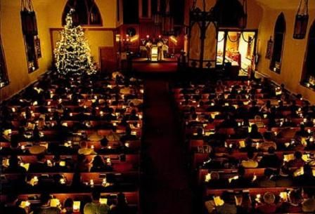 The wonder and blessings of Christmas Eve candlelight service