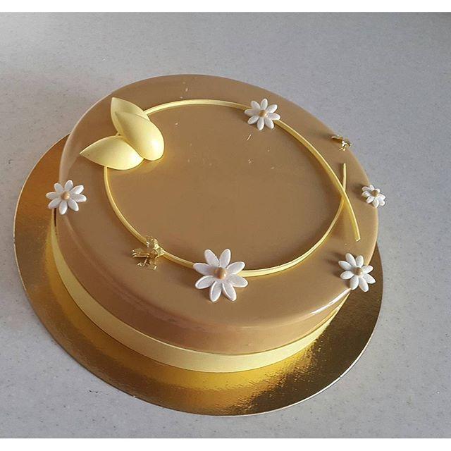 А этот торт в дорогу... 350 км будет ехать в багажнике)) #pastry#pastry_inspiration #pastryartru ...