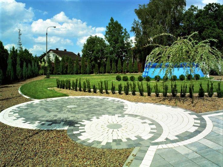 kostka brukowa, kostka, ogród, pomysł na ogród, garden, garden ideas, pozbruk, beton