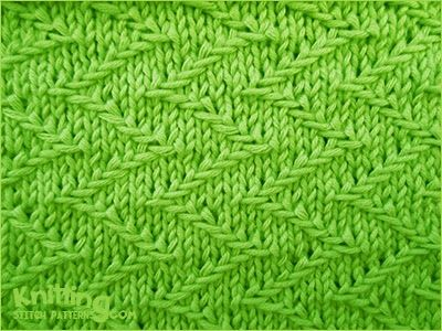 60 Best Mosaicslipped Stitch Knitting Patterns Images On Pinterest