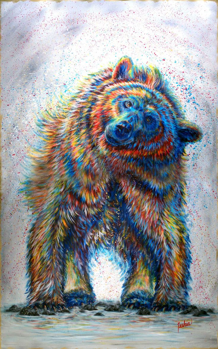 Color art printing anchorage - Find This Pin And More On Contemporary Wildlife Art Portfolio By Teshiaart By Teshiaart