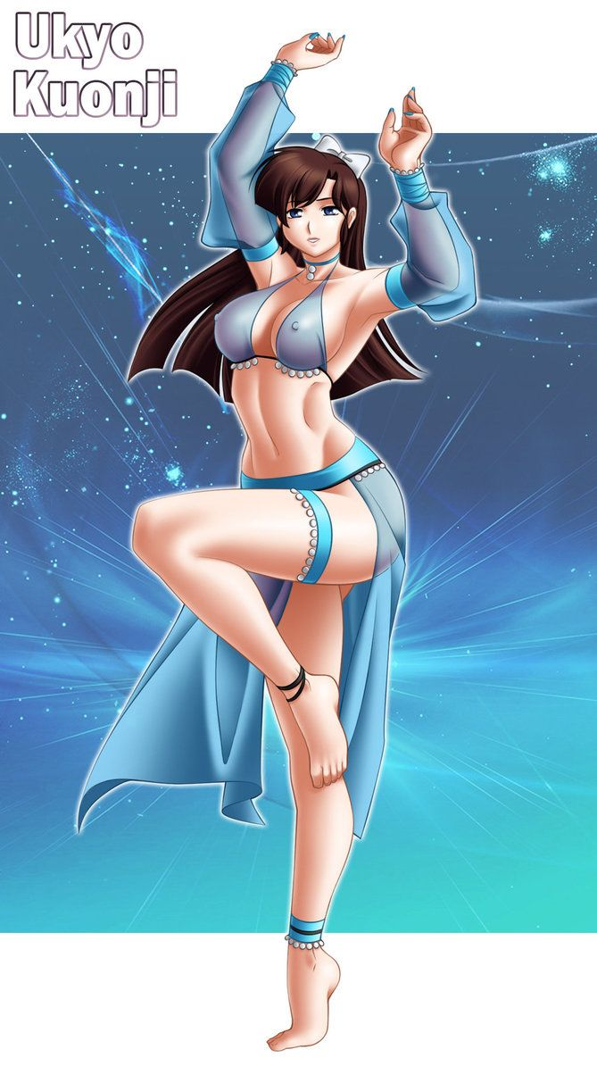 Ukyo As Hypnotized Belly Dancer By Andronicusvii On