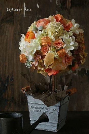 『ご結婚おめでとう♪』 http://ameblo.jp/flower-note/entry-10649031927.html