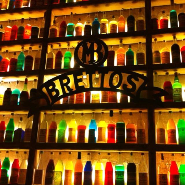 The famous Brettos bar, Plaka, Athens