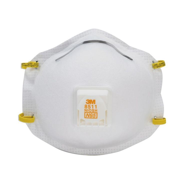 3M N95 Sanding and Fiberglass Valved Respirator (5-Pack) (Case of 8)