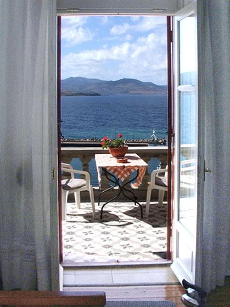Window to Aegean Sea, by #Villa #Molova,  #Molyvos, #Μήθυμνα, #Lesvos, #Greece