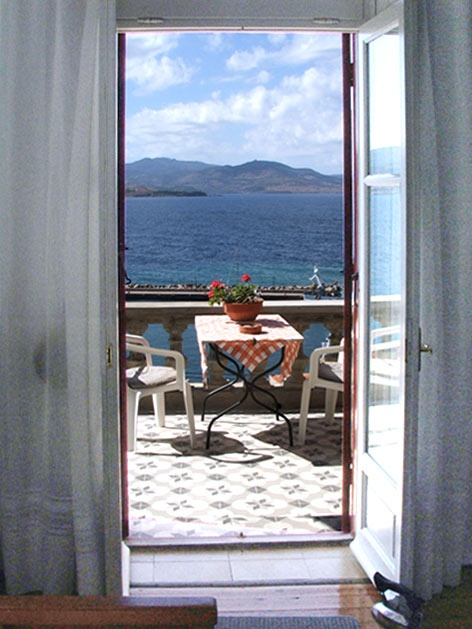 Window to Aegean Sea, by #Villa #Molova,  #Molyvos, #Μήθυμνα, #Lesvos, #Greece