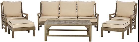 Martha Stewart Living™ Blue Hill 6-Piece Outdoor Deep Seating Set from Home  Decorators
