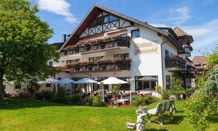 Forêt Noire : 2 ou 3 nuits avec verre d'accueil, menu, vin et vélo à l'Hotel & Restaurant Alemannenhof pour 2 personnes
