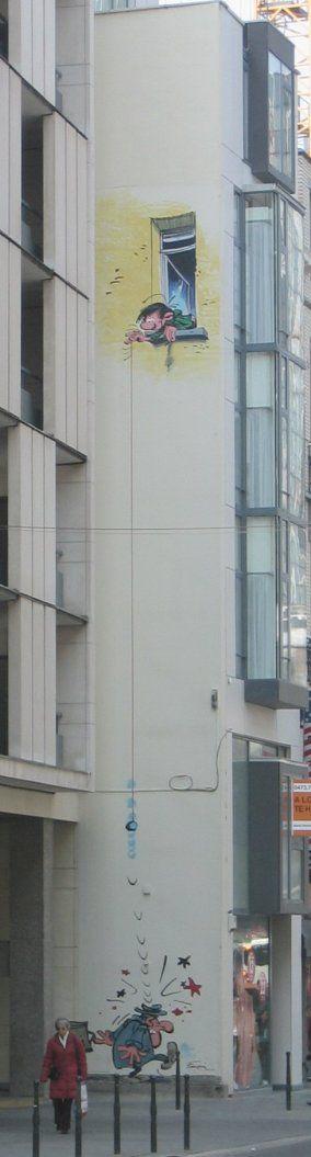 Gaston Lagaffe - rue des Fripiers - Brussels