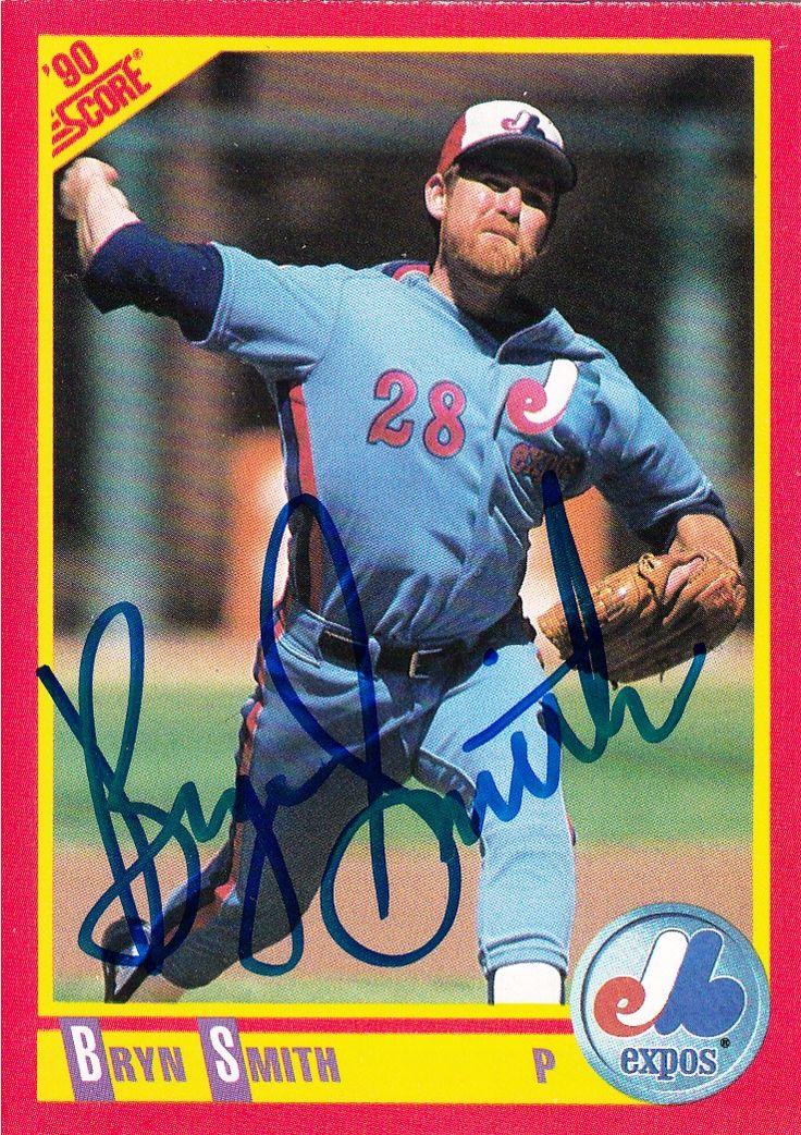 Bryn smith baseball cards baseball expos