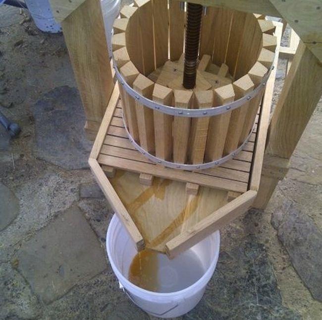 Genius! DIY Apple Cider Press