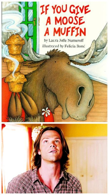 If you give a moose a muffin...