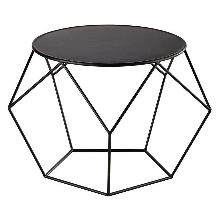 Table basse ronde en métal ... - Prism