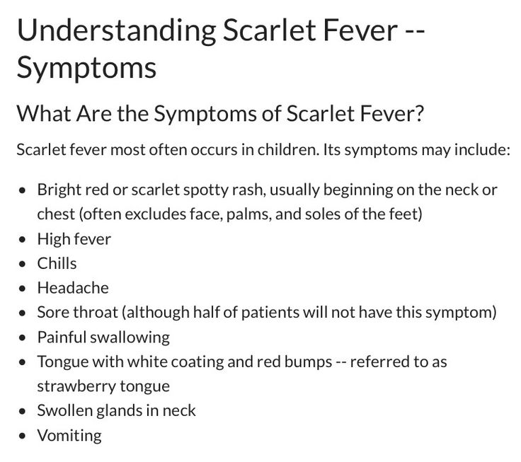scarlet fever rash – citybeauty, Human body