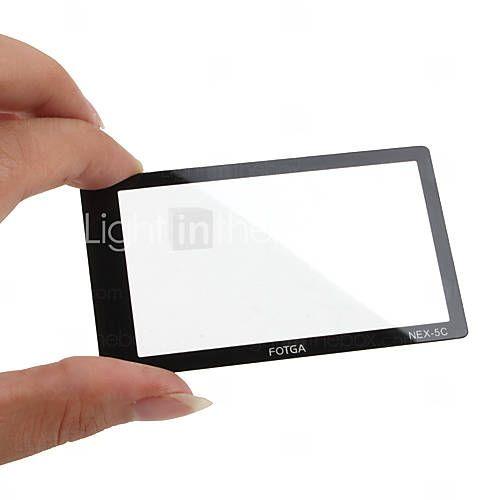 EUR € 6.99 - fotga premium LCD-skærm panel protektor glas til sony nex-3/nex-5, Gratis Fragt På Alle Gadgets!