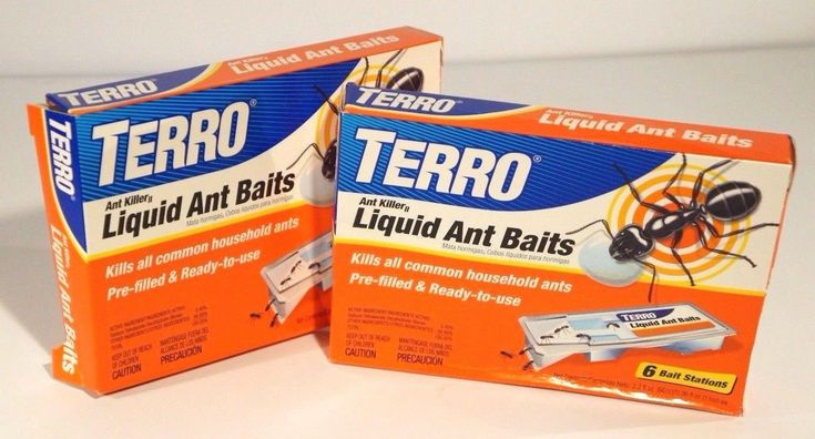 Terro Ant Killer Liquid Ant Baits Pre-Filled And Ready To Use (Pack Of 2)