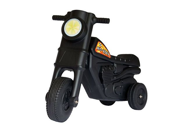 These Go-Rider Scooters will provide hours of fun for you little ones! Available in classic black, or pink for your little princess.