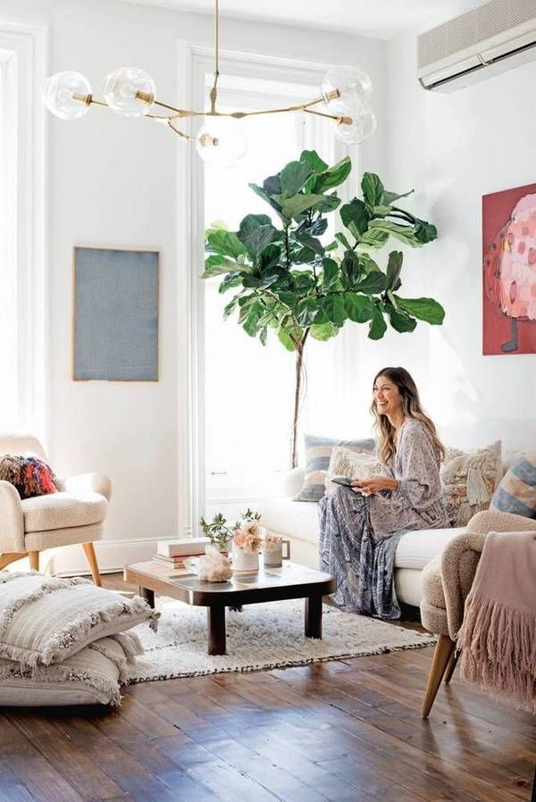 decorology: A bright Brooklyn home filled with light and airy layers