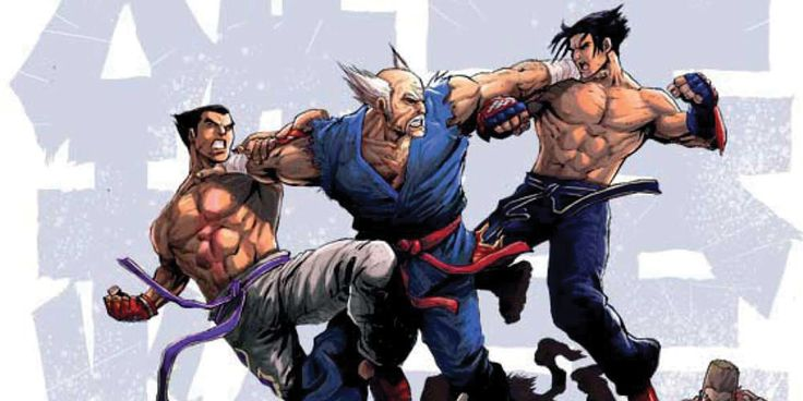 Tapping into Tekken's rich history & featuring memorable characters from the celebrated video game! Titan's Tekken #1 by Cavan Scott & Andie Tong.