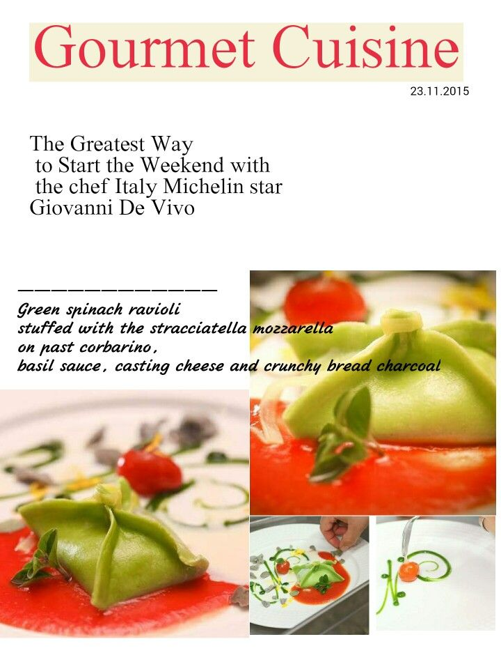 Gourmet cuisine