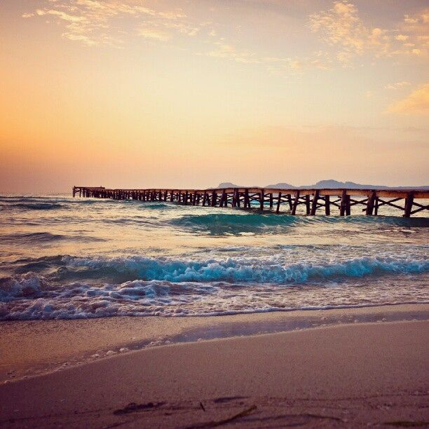 Sunrise in Playa de Muro