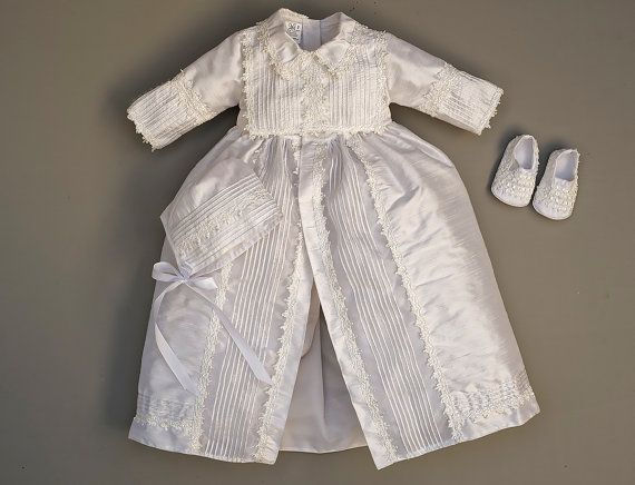 Baptism Gift Christening Gown for boy  Baby Boy Baptism by Burbvus Find it on #Etsy