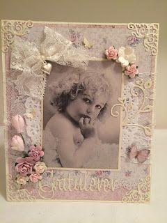 Heidis kortlagingsblogg: Bursdagskort til mamma