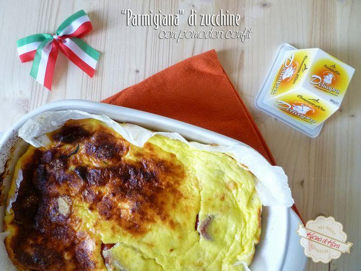 Camosciamo con la Parmigiana di zucchine con pomodori confit #ricette #receipe #food #deliciousfood #camosciodoro #camosciare #piccolipiaceri #delicapra #parmigiana grazie a la Kucina di Kiara