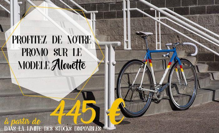 Venez vite profitez de notre promotion sur notre modèle Alouette  http://www.fixiedesign.com/promos-soldes-pas-cher-velo-urbain-pas-cher/vélo-urbain-state-bicycle-alouette-890-detail.html