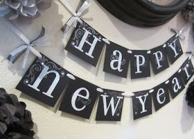 happy new year decoration ideas | having a New Year's Eve Party