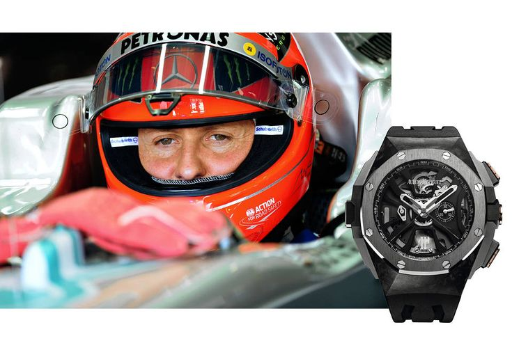 Michael Schumacher And The Watchmaking Feat The World