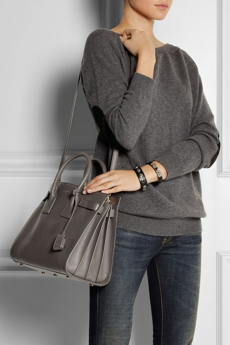 Sac De Jour Small Leather Tote By Saint Laurent Must