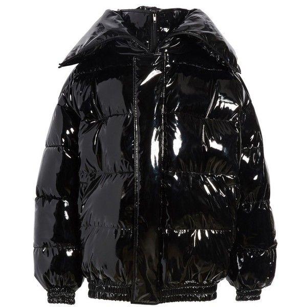 be176e187 Women's Vetements Miss Webcam Puffer Jacket ($4,990) ❤ liked on ...