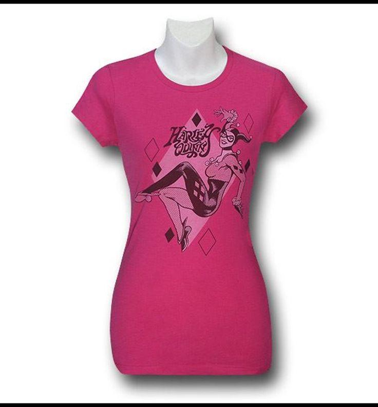 Harley Quinn Pink Women's T-Shirt