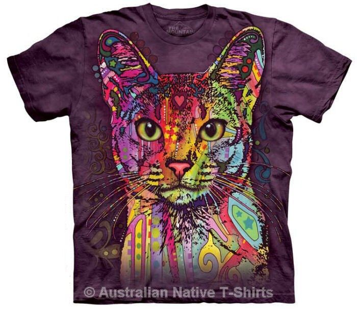 Abyssinian Cat by Russo Childrens T-Shirt