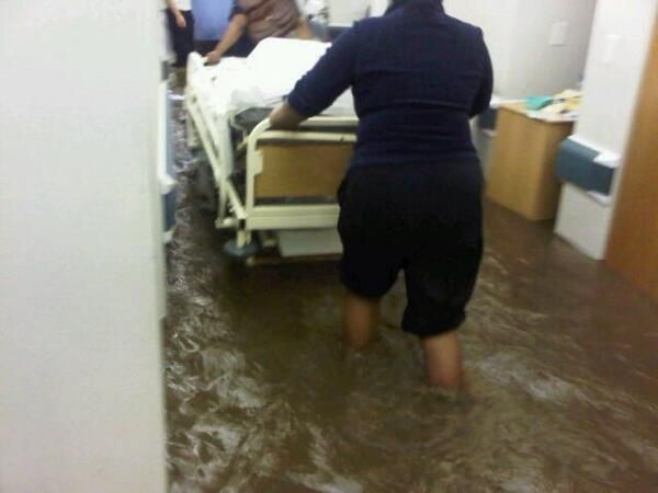 Cape November Storm | Modern Web Presence @Ben Silbermann van Rensburg #flashflooding in #somersetwest #mediclinic @kwagga009 helping people in need!
