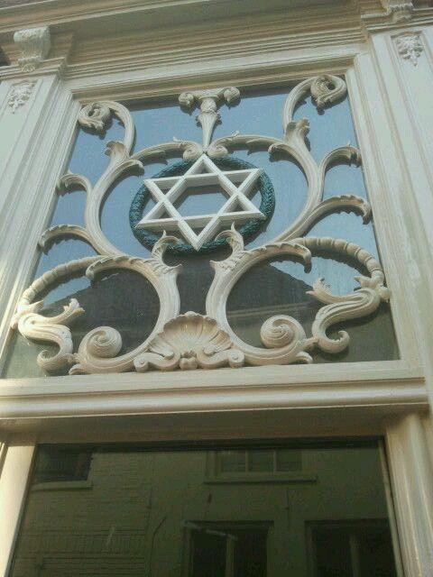Voormalige synagoge in de Lange Bisschopstraat te Deventer