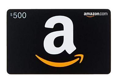Amazon Gift Card – $500 – JECC Fundraiser