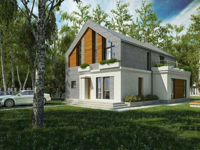 Фасад из голландского кирпича ручной формовки