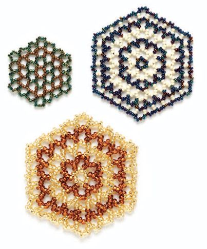 Learn How To Do Hexagonal Beaded Netting - Daily Beading Blogs - Blogs - Beading Daily