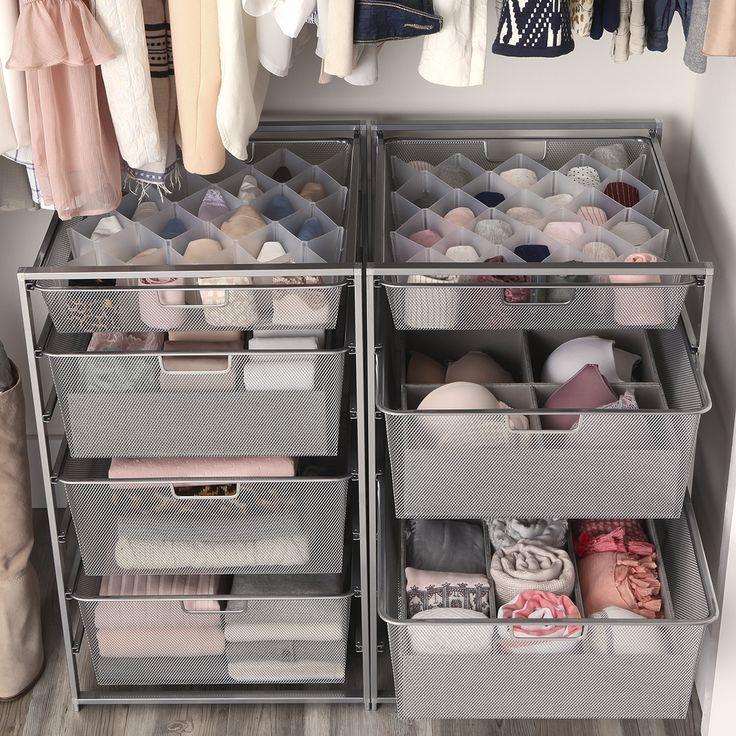 Best 194 Elfa Closet Ideas On Pinterest