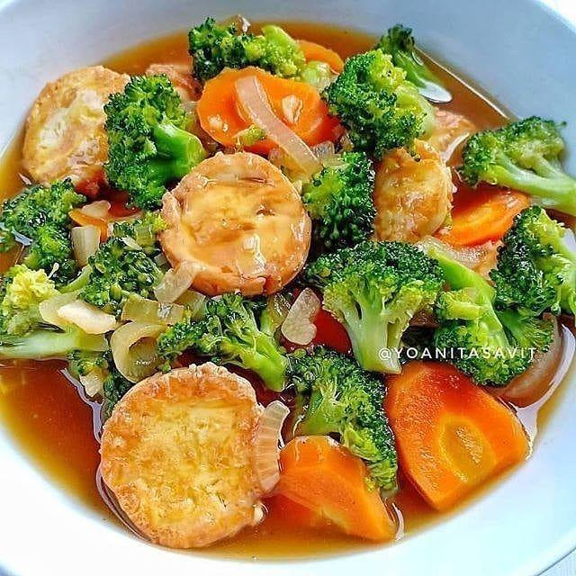 Pin On Brokoli Tofu Tahu
